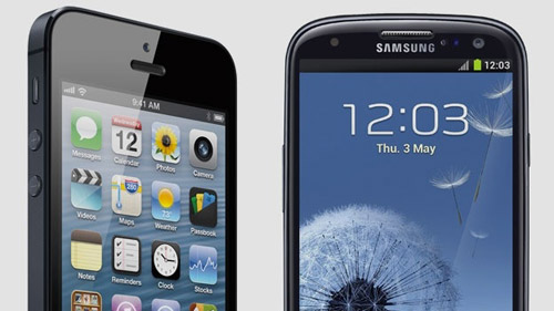 iphone le plus grand consommateur de data et samsung S3